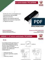 Unidad 2. Microcontroladores PIC
