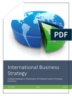 Probable Challenges in Globalization of Companies based in Emerging Economies