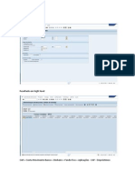 Configuração Fluxo de Caixa - FF7B