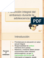 Prevencion Integral Del Embarazo