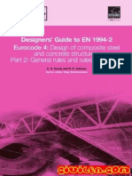203543852 105593836 Designers Guide to en 1994 2 Eurocode 4 Design of Composite Steel and Concrete Structures