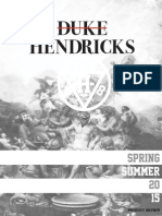 Duke Hendricks Line Book