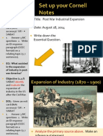 WEBNOTES - Day 1 - 2014 - PostWarIndustrialization