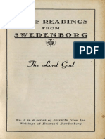 Brief Readings from Swedenborg THE LORD GOD Swedenborg Foundation 1949