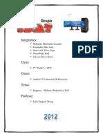 Analisis Y Evaluacion de Proyectos