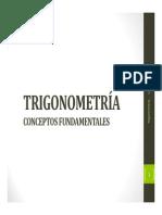 Trigonometría-conceptos