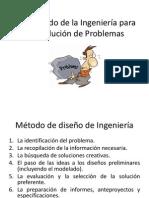 El Metodo de La Ingenieria Para La Solucion
