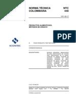 NTC 440-Productos alimenticios-Métodos de ensayo.pdf
