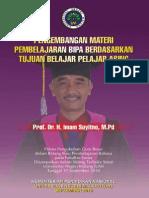 Pengembangan Materi Pembelajaran BIPA Berdasarkan Tujuan Belajar Pelajar Asing - Prof. Dr. Imam Suyitno, M.pd