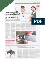 Control Prenatal Protección Para El Bebé y La Madre