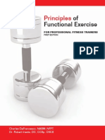 Principles of Functional Exercise