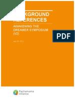 Symposium Background References V2