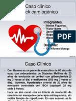 Caso Clínico Shock Cardiogénico