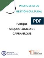 Propuesta Gestión Cultural Carranque