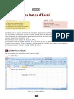 Les bases d'Excel 2007