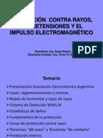 Proteccion Contra Rayos Sobretensiones y El Impulso Electromagnetico