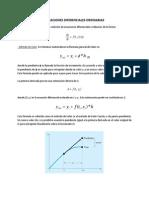 Ecuaciones Diferenciales Ordinarias (1)