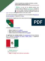 Tarea Jorgito Significado de Los Colores de La Bandera de Mexico.