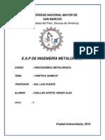 3° Informe de FQ II