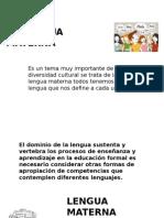 La Lengua Materna Imprimir