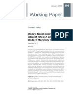 P1-1 a Critique of Modern Monetary Theory