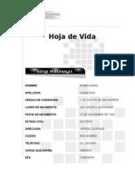 Hoja de Vida Ruben Dario Ojeda Roa