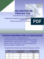 Evaluacion de Proyectos Intensivo 2014