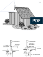 Solar Shed Engineer Drawings
