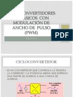 Cicloconvertidores Trifsicos Con Modulación de Ancho de Pulso