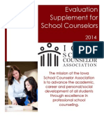 iowa evaluation supplement for school counselors