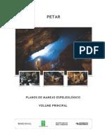 Plano Espeleológico (PETAR)