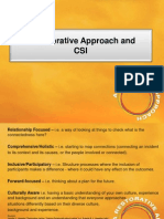 a restorative approach and csi powerpoint