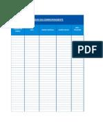 Planilha Modelo_solicitação de Formularios