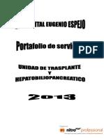 TRANS Hee Portafolio de Servicios Hbp y Renal