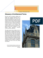 Glossary of Architectural Terms