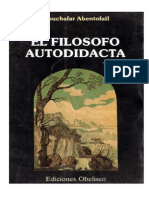 144075134 Abentofail Abuchafar El Filosofo Autodidacto