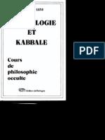 Eliphas Lévi - Numérologie Et Kabbale (Cours de Philosophie Occulte)