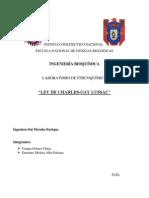 Ley de Gay- Lussac [Práctica 1]