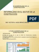 Informalidad en El Sector de La Construcción