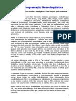 Informações Gerais PNL - Programação Neurolinguística