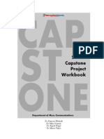 DSU Mass Communications - Senior Capstone Workbook
