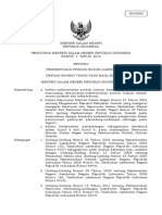 Permendagri No.1 TH 2014