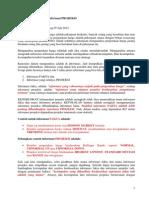 Informasi Fakta Dan Projeksi Versi RINGKAS