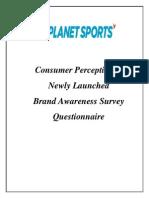 Planet Sports Consumer Perception