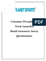 Planet Sports Consumer Perception