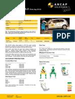 Volkswagen Polo ANCAP