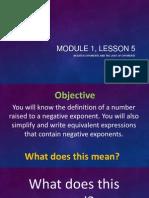 module 1 lesson 5