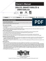 tripplite 1500lcd manual