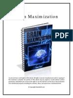 231014399 Brain Maximization