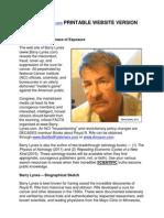 Printable Lynes Site